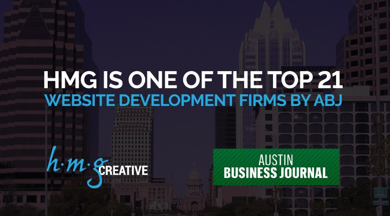 HMG is One of the Top 21 Website Development Firms