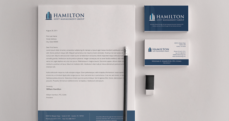 A New Brand Identity for Hamilton Asset Management Group