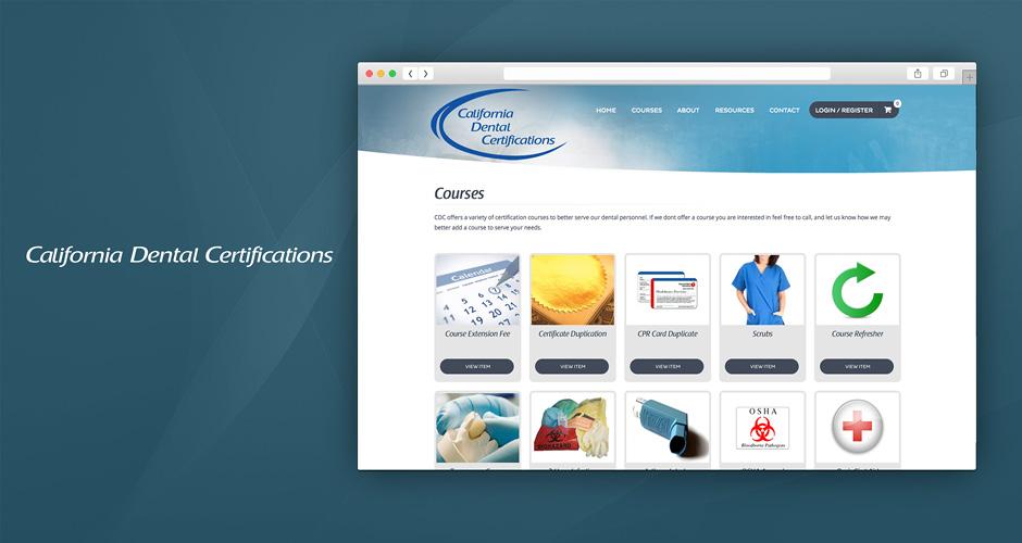 California Dental Certifications Hmg Creative