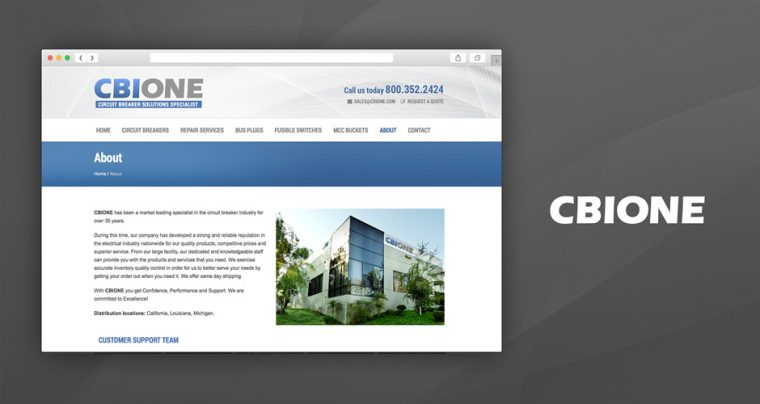 A New Website for CBIONE