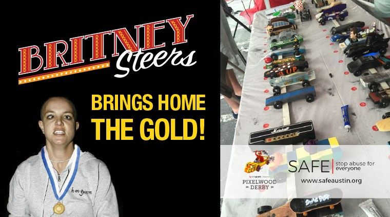 Britney Steers Brings Home the Gold!