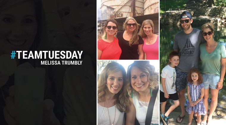 #TeamTuesday – Melissa Trumbly