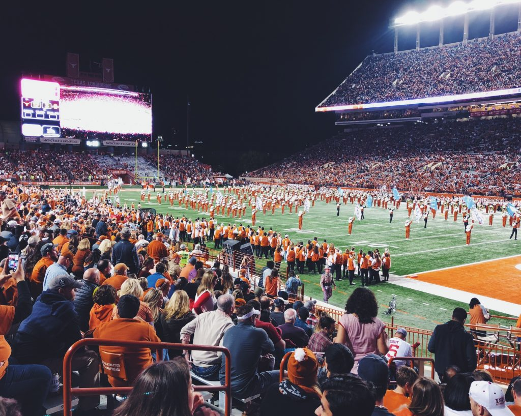 UT football game