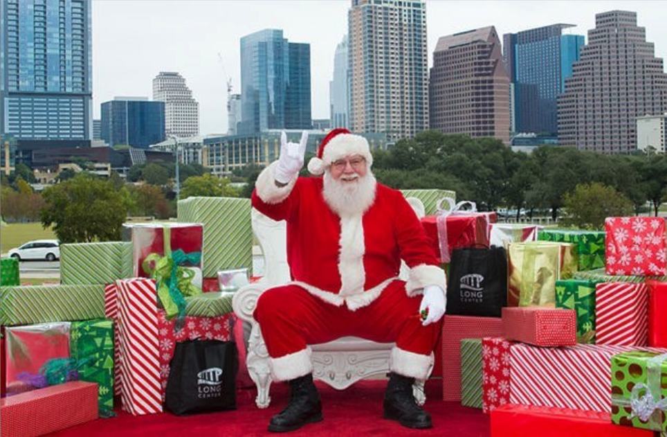 Santa on the Terrace at the Long Center