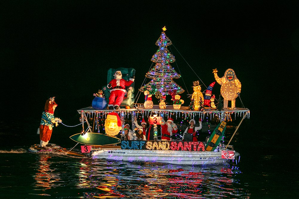 Lake travis boat parade contestant